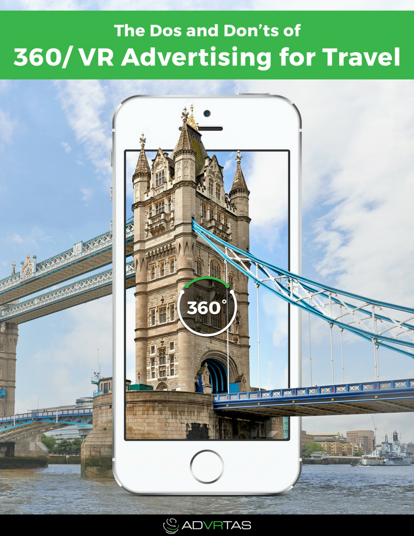 The Do's & Don'ts of 360 VR Advertising for Travel eBook Cover