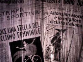 Quando la bicicletta sale sul palcoscenico: il teatro di Federica Molteni