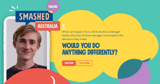 Smashed Online Webpage