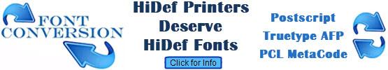 Font Conversion Image