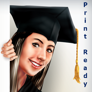 Print Ready Graduate