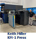 Keith Miller with KM-1 Press