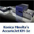 Konica Minolta's AccurioJet KM-1e