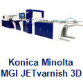 KM - MGI JETvarnish 3D