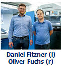 Kaniel Fitzner and Oliver Fuchs from Koenig & Bauer