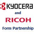 Kyocera and Ricoh