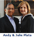 Andy and Julie Plata Podcast with Thayer Long
