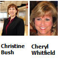 Christine Bush and Cheryl Whitfield