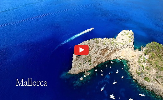Drone video of the best spots on Mallorca