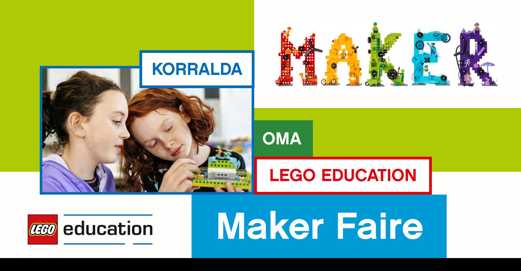 Korralda oktoobris LEGO Education Maker Faire raames oma leiutamissündmus ja tähistame sellega rahvusvahelist programmeerimisnädalat Code Week.
