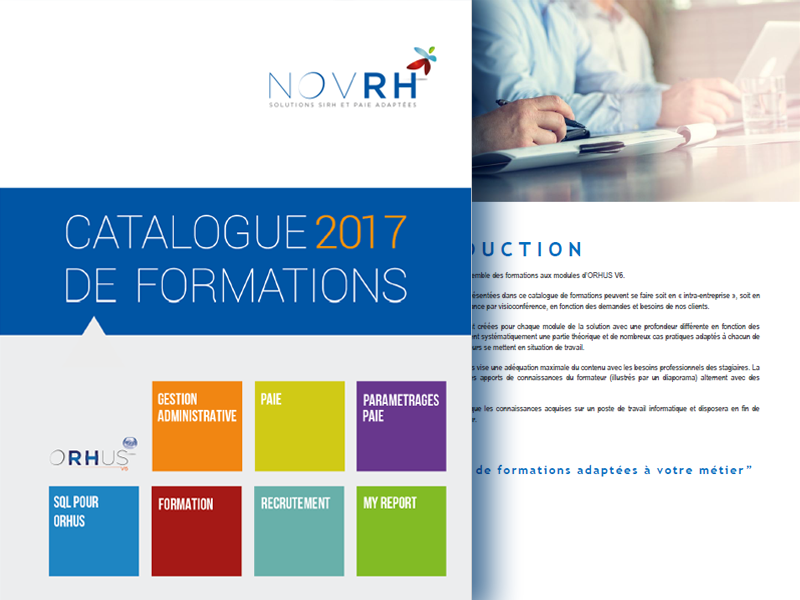 Catalogue de Formations