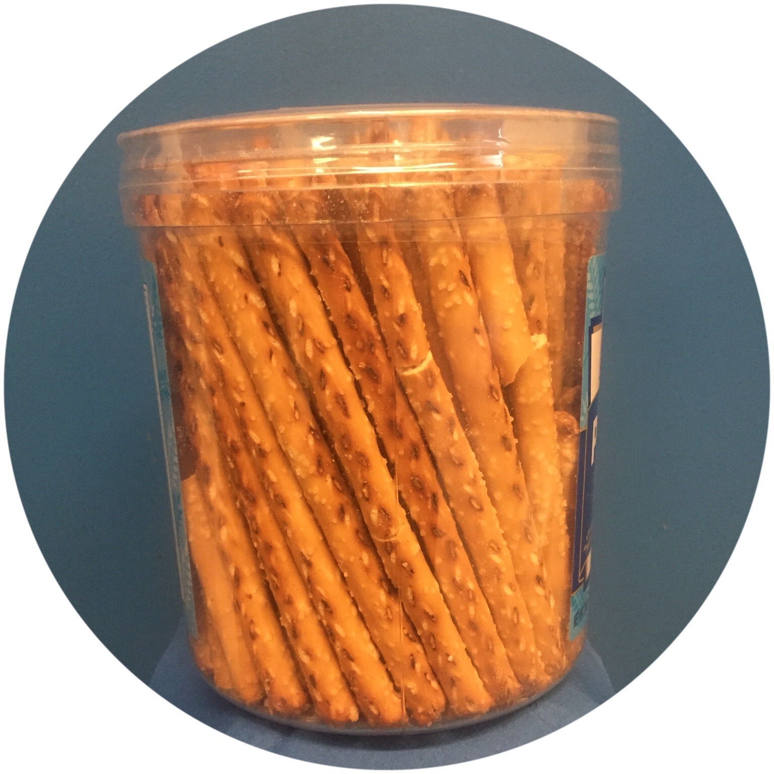 Nestable Tub Canisters for Snacks