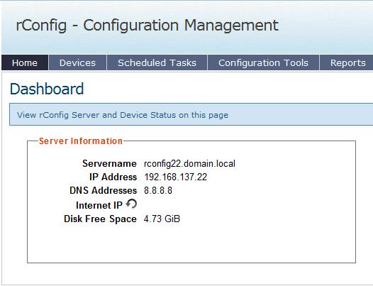 rConfig -Network Configuration Management